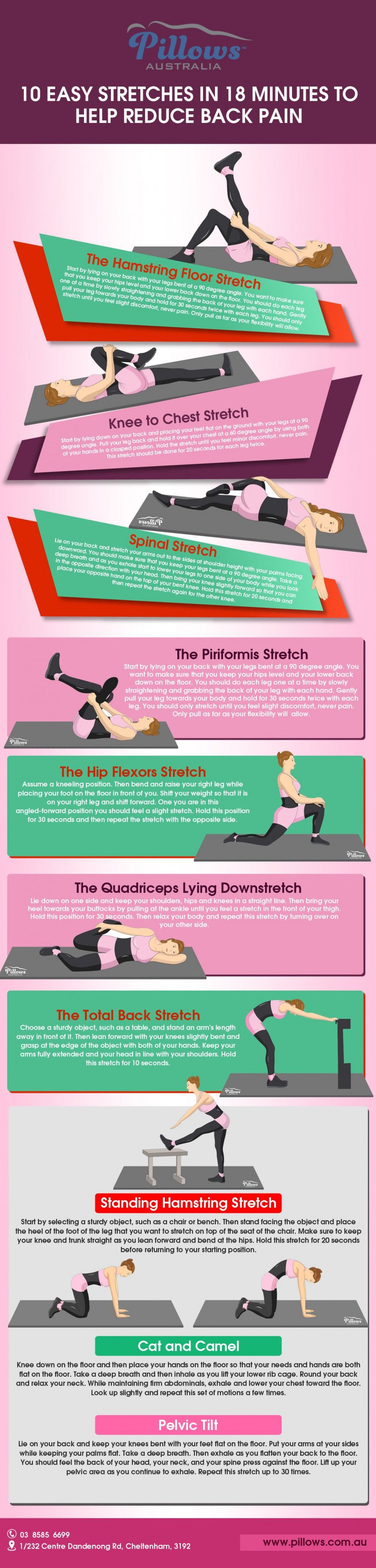 18 Easy Stretches for Back Pain